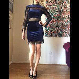 Romeo + Juliet Couture Velvet Dress